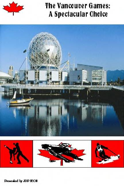 The Vancouver Games: A Spectacular Choice book cover